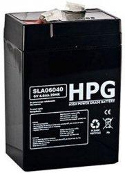 Bezobsługowy akumulator żelowy Pb 6V 4,0Ah