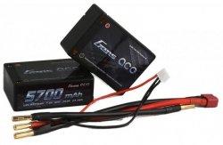 5700mAh 7.4V 60C HardCase Gens Ace (EFRA & BRC approved)