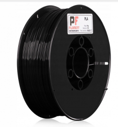 FILAMENT PLA do DRUKAREK 3D  1,75mm 1kg Czarny