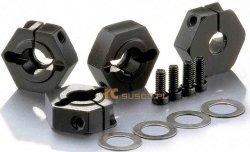 Aluminiowe nakrętki typu HEX