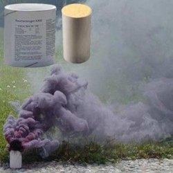 Świeca dymna duża AX-60 czarna - 5szt