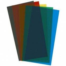 Płyty przeźroczyste gr.0.25mm - Mix kolor 5szt.