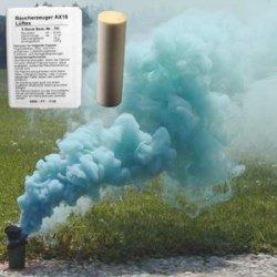 Świeca dymna AX-18 zielona - 5szt