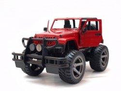 Jeep Wrangler z otwartym dachem 1:14 2.4GHz - Czerwony