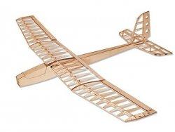 Samolot Red Swan Balsa Kit (rozpiętość 1250mm) + Motor + ESC + 4x Serwo