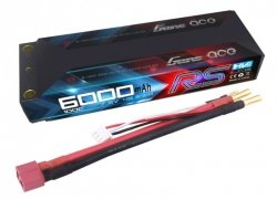 6000mAh 7.6V 100C RS HardCase Lipo49# Gens Ace
