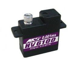 Serwo MKS HV6100 (Mikro, 8.4V, 0.10s/60, 3.2kg-cm)
