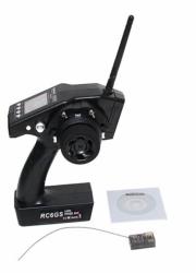 Radio pistoletowe RC6GS 6CH 2.4GHz + R6FG