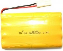 Akumulator 800mAh 9.6V NiCd Tamiya
