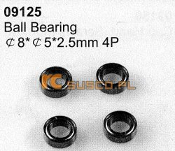 Ball bearing 8*5*2,5mm 4P