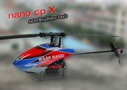 WASP Nano CPX 2.4GHz 3D Flybarless RTF (bezszczotkowy)