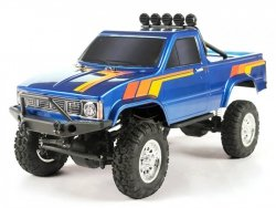 Thunder Tiger: Thunder Tiger TOYOTA HILUX 1/12 4WD 2.4GHz Pick-up RTR - Niebieski