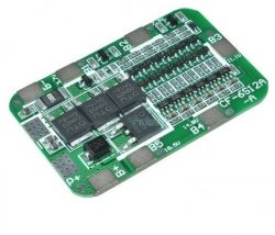 Moduł BMS PCM PCB ładowania i ochrony ogniw Li-Ion - 6S - 22,2V - 15A - do ogniw 18650