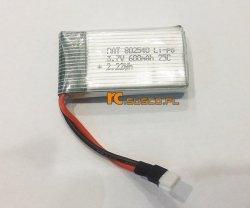 Akumulator li-po 3,7V 600mAh Syma X5C X5SC