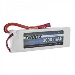 Redox 3600 mAh 7,4V 20C - pakiet LiPo