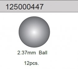 2.37mm Ball (12) 2WD