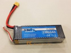 Akumulator ABC-POWER 3300mAh 3S 25C - Li-pol 11,1V NANO-TECH