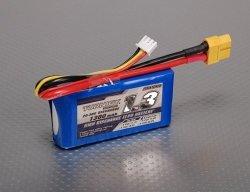 Akumulator LiPol 1300mAh 11,1V 3S 20-30C Turnigy