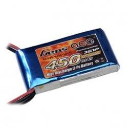 Akumulator Gens Ace 450mAh 11.1V 25C 3S1P