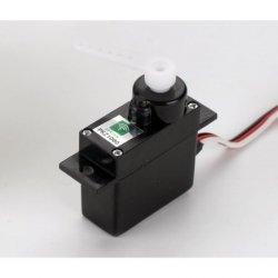 Mini Serwo (3W) z dźwigniami - krótki przewód