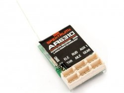 Spektrum DSMX - odbiornik 6k AR6310 Nanolite
