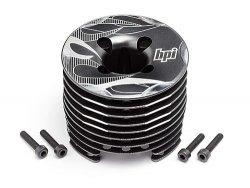 Aluminium Heatsink Head Gunmetal (F3.5 Pro)
