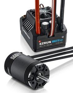 Zestaw silnik + regulator Hobbywing Ezrun Max10 SCT 3660SL 3200 kV