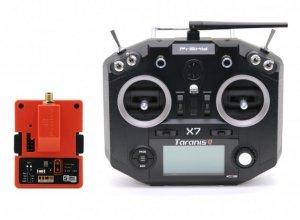 Aparatura FrSky Taranis Q X7 ACCESS Digital Telemetry Transmitter z modułem long range R9M