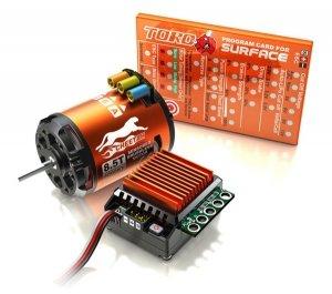 Zestaw SkyRC Cheetah 1:10 + regulator ESC 60A + silnik 21.5T + karta programująca