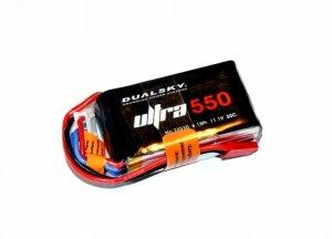 Dualsky 550mAh ULTRA 50C/6C 11,1V