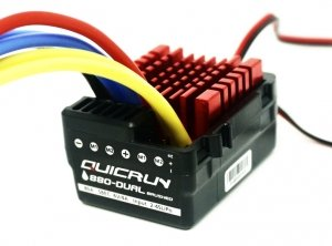 Podwójny Regulator szczotkowy QUICRUN WP 880 Dual Brushed ESC (2-4S)