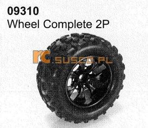 Wheel complete 2P
