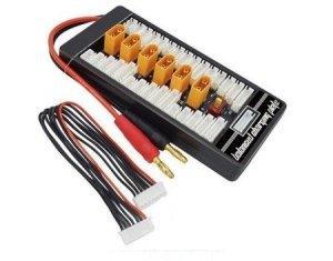 Para-Board XT60 6 akumulatorów / 6 cel równoległe ładowanie nawet 6 akumulatorów
