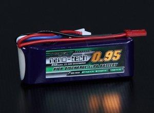 Akumulator LI-PO NANO-TECH 950mah 11,1V 3S 25~50C Lipo Pack
