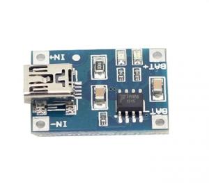 Ładowarka Mini USB 1000mA na Li-pol 1S (3,7V) - TP4056
