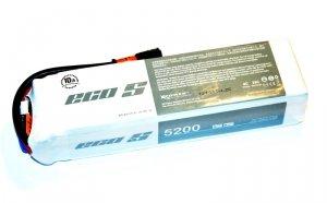 Dualsky 5200 mAh 25C/4C 14.8V