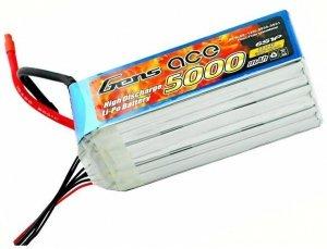 5000mAh 22.2V 60/120C Gens Ace