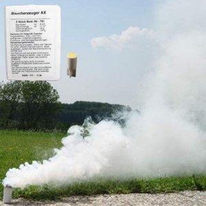 Świeca dymna mała AX-3 biała - 10szt