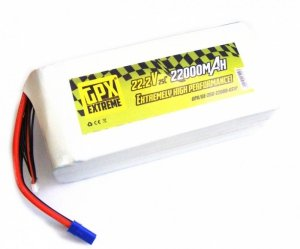 22000mAh 22.2V 25C GPX Extreme