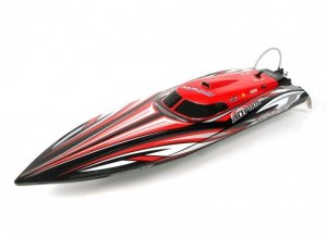 HydroPro Inception Brushless RTR Deep Vee Racing Boat 950mm (Red/Black)