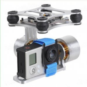 Gimbal 2-Axis HSM-2208B - kompletny - do kamery GoPro - z kontro