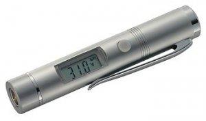 Termometr na podczerwień w formie długopisu