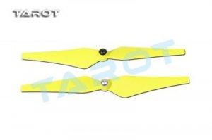 Śmigła TAROT 9,4x4,4 - CW/CCW yellow - para śmigieł do DJI Phant