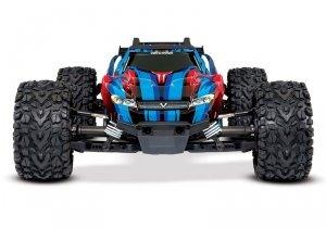 1/10 RUSTLER 4X4 VXL TSM - wersja niebieska BEZSZCZOTKOWY 4WD 4x4