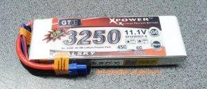 Akumulator Lipo Dualsky 3250mAh 45C/6C 11.1V