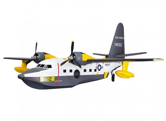 "Model na wodę Avios Albatross HU-16 Flying Boat 1620mm (63.7"") PNF"