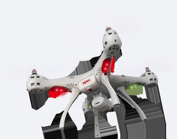 Dron Syma X8SW-D biały RTF WIFI FPV 720P