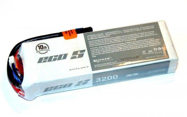 Akumulator Lipo Dualsky 3200mAh 25C/4C 14.8V