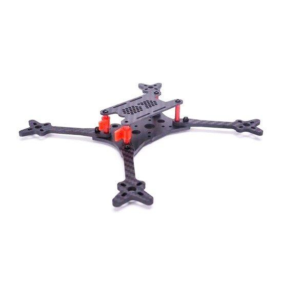 Rama FLOSS V2.1 - 215mm - ramiona 4mm - Carbon Racing drone