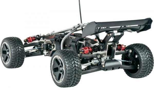 Model Buggy RC Reely 1:10, Slim Dart 4WD z wałem Kardana SD, RtR